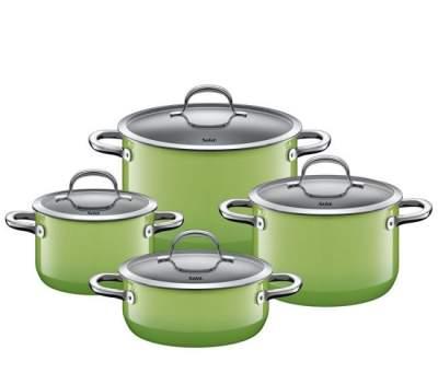 Zestaw garnków ceramicznych Silit Passion Green